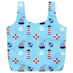 Sailing The Bay Reusable Bag (XL)