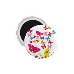 Butterfly Beauty 1.75  Button Magnet