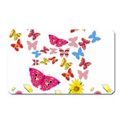 Butterfly Beauty Magnet (Rectangular)