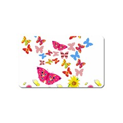 Butterfly Beauty Magnet (name Card)