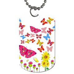 Butterfly Beauty Dog Tag (Two-sided)