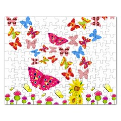 Butterfly Beauty Jigsaw Puzzle (Rectangle)