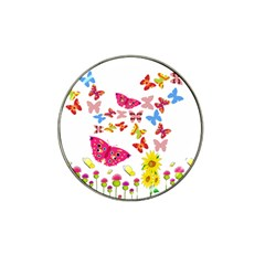 Butterfly Beauty Golf Ball Marker (for Hat Clip)