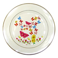 Butterfly Beauty Porcelain Display Plate