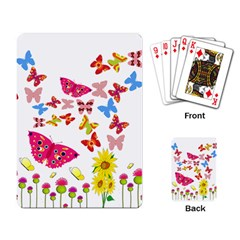 Butterfly Beauty Playing Cards Single Design