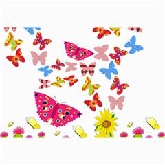 Butterfly Beauty Canvas 12  x 18  (Unframed)