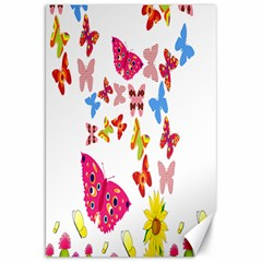 Butterfly Beauty Canvas 20  x 30  (Unframed)