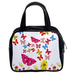 Butterfly Beauty Classic Handbag (two Sides)