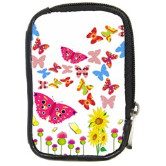 Butterfly Beauty Compact Camera Leather Case
