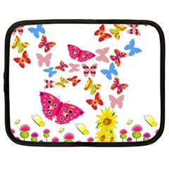 Butterfly Beauty Netbook Sleeve (xl)