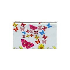 Butterfly Beauty Cosmetic Bag (small)