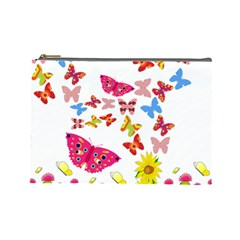 Butterfly Beauty Cosmetic Bag (Large)