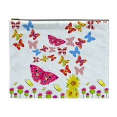 Butterfly Beauty Cosmetic Bag (xl)