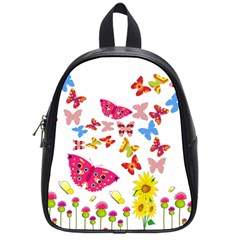 Butterfly Beauty School Bag (Small)