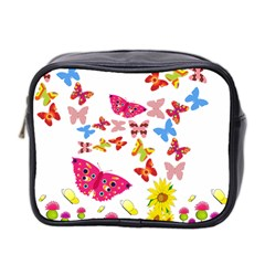 Butterfly Beauty Mini Travel Toiletry Bag (Two Sides)