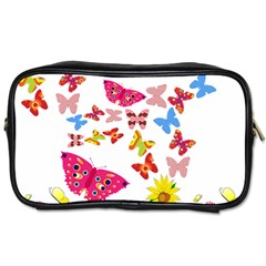 Butterfly Beauty Travel Toiletry Bag (two Sides)