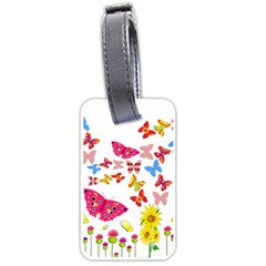 Butterfly Beauty Luggage Tag (one Side)