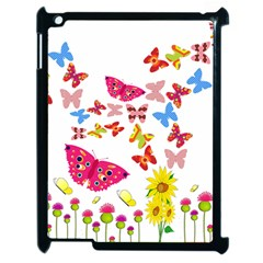 Butterfly Beauty Apple iPad 2 Case (Black)