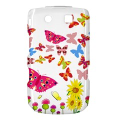 Butterfly Beauty BlackBerry Torch 9800 9810 Hardshell Case