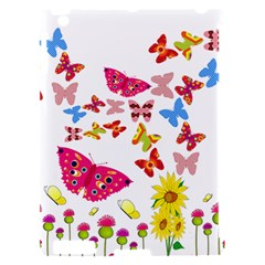 Butterfly Beauty Apple iPad 2 Hardshell Case (Compatible with Smart Cover)