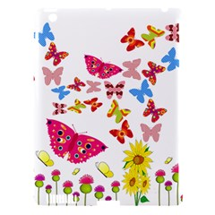 Butterfly Beauty Apple Ipad 3/4 Hardshell Case (compatible With Smart Cover)