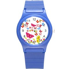 Butterfly Beauty Plastic Sport Watch (Small)