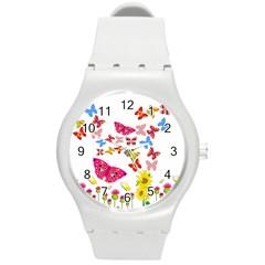 Butterfly Beauty Plastic Sport Watch (medium)
