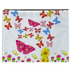 Butterfly Beauty Cosmetic Bag (XXXL)