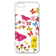 Butterfly Beauty Apple Seamless Iphone 5 Case (clear)
