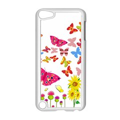 Butterfly Beauty Apple iPod Touch 5 Case (White)