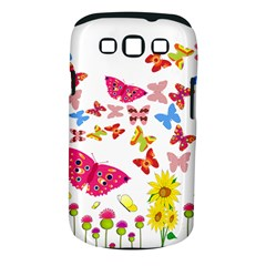 Butterfly Beauty Samsung Galaxy S Iii Classic Hardshell Case (pc+silicone)