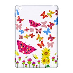 Butterfly Beauty Apple Ipad Mini Hardshell Case (compatible With Smart Cover)