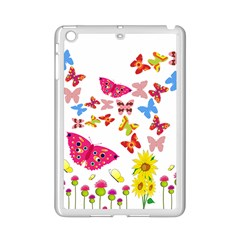 Butterfly Beauty Apple iPad Mini 2 Case (White)