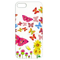 Butterfly Beauty Apple iPhone 5 Hardshell Case with Stand