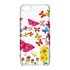 Butterfly Beauty Apple Ipod Touch 5 Hardshell Case With Stand