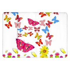 Butterfly Beauty Samsung Galaxy Tab 8.9  P7300 Flip Case