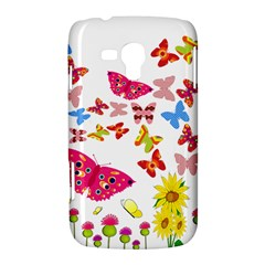 Butterfly Beauty Samsung Galaxy Duos I8262 Hardshell Case