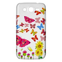 Butterfly Beauty Samsung Galaxy Mega 5.8 I9152 Hardshell Case