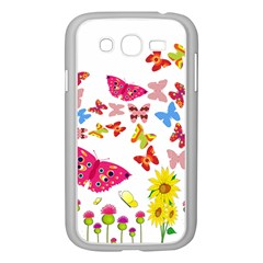 Butterfly Beauty Samsung Galaxy Grand DUOS I9082 Case (White)