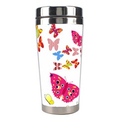 Butterfly Beauty Stainless Steel Travel Tumbler