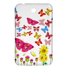 Butterfly Beauty Samsung Galaxy Tab 3 (7 ) P3200 Hardshell Case
