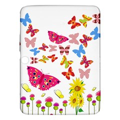 Butterfly Beauty Samsung Galaxy Tab 3 (10.1 ) P5200 Hardshell Case
