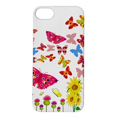 Butterfly Beauty Apple iPhone 5S Hardshell Case