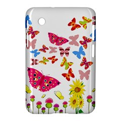 Butterfly Beauty Samsung Galaxy Tab 2 (7 ) P3100 Hardshell Case