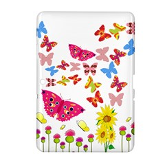 Butterfly Beauty Samsung Galaxy Tab 2 (10.1 ) P5100 Hardshell Case