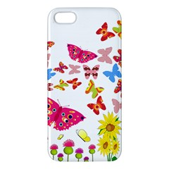 Butterfly Beauty iPhone 5S Premium Hardshell Case