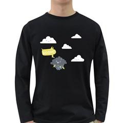 Tempest Tantrum  Men s Long Sleeve T-shirt (Dark Colored)
