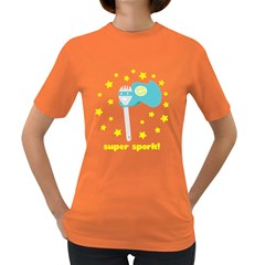 Super Spork Women s T-shirt (Colored)