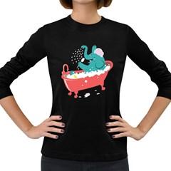 Rub-a-Dub Fun Women s Long Sleeve T-shirt (Dark Colored)