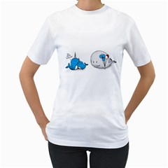More Ballon, Mom    Women s T Shirt (white)